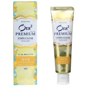 ORA2 PREMIUM STAIN CLEAR TOOTHPASTE #SHINY CITRUS MINT 100g