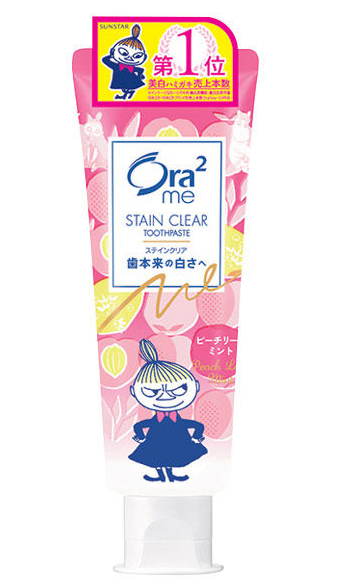 ORA2 STAIN CLEAR TOOTHPASTE #PEACH LEAF MINT 130g