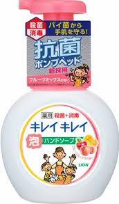 LION KIREI KIREI ANTI-BACTERIAL HAND SOAP #FRUITY 250ml