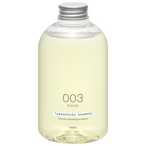 TAMANOHADA SHAMPOO 003 ROSE 540ml