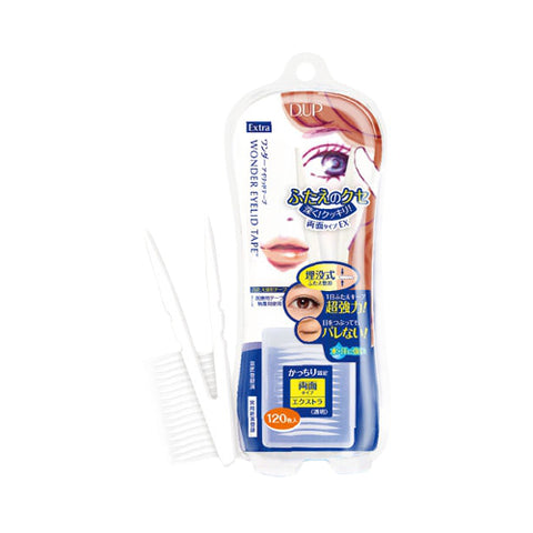 DUP WONDER EYELID TAPE-EXTRA 120PCS (BLUE)