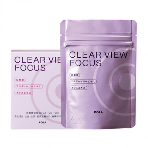 POLA CLEAR VIEW FOCUS 60TABLETS
