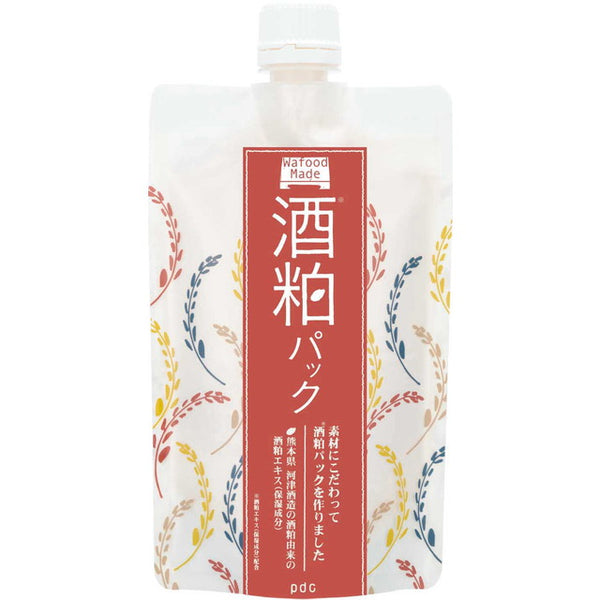 PDC WAFOOD MADE SAKE LEES FACE PACK RINSE-OFF MASK 170g