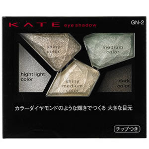 KATE 3D DIAMOND EYE SHADOW 5 COLORS GN-2 2.8g