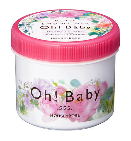 HOUSE OF ROSE OH BABY BODY SMOOTHER ROSE & FLOWERS 350g