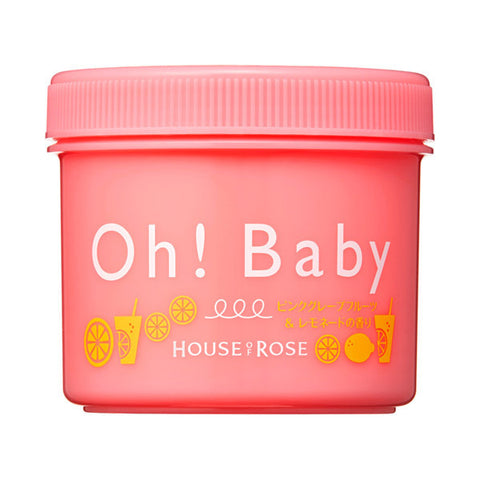 HOUSE OF ROSE OH BABY BODY SMOOTHER PINK GRAPEFRUIT & LEMONADE 350g