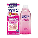 KOBAYASHI EYEBON W DOUBLE VITAMIN EYE WASH LIQUID 500ml (PINK)