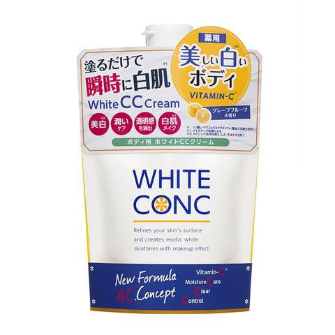 WHITE CONC MEDICATED WHITENING BODY CC CREAM WITH VITAMIN-C 200g