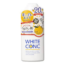 WHITE CONC BODY SHAMPOO FRESH YUZU 360ml