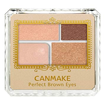 CANMAKE PERFECT BROWN EYES 4 COLORS EYESHADOW 05 SKINNY BROWN 3.6g