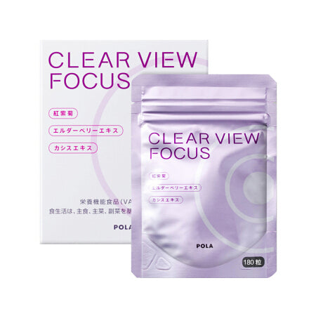 POLA CLEAR VIEW FOCUS 180TABLETS