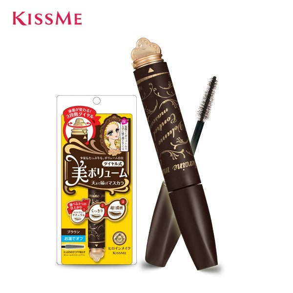 HEROINE MAKE VOLUME CONTROL MASCARA 02 BROWN 5g