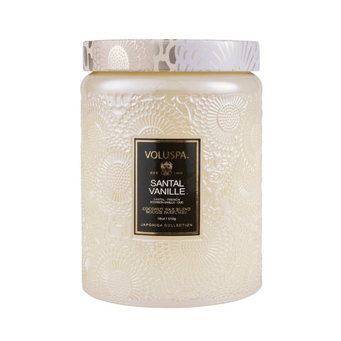 VOLUSPA SANTAL VANILLE 100HR CANDLE