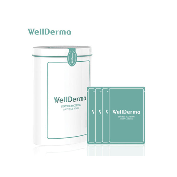 WELLDERMA TEATREE SOOTHING AMPOULE MASK 10PCS