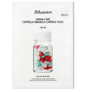 JMSOLUTION DERMA CARE CENTELLA REPAIR CAPSULE MASK CLEAR 1PC