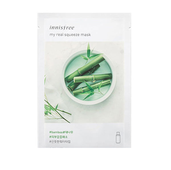 INNISFREE MY REAL SUQEEZE MASK #BAMBOO 20ml