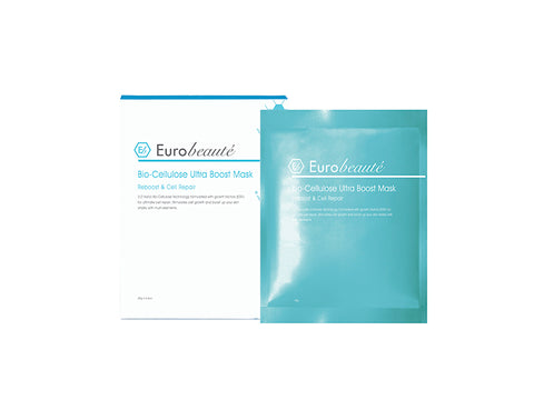 EUROBEAUTE BIO-CELLULOSE ULTRA BOOST MASK 6PCS