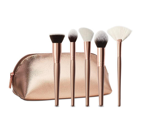 MORPHE COMPLEXION GOALS 5-PIECE BRUSH COLLECTION & CASE