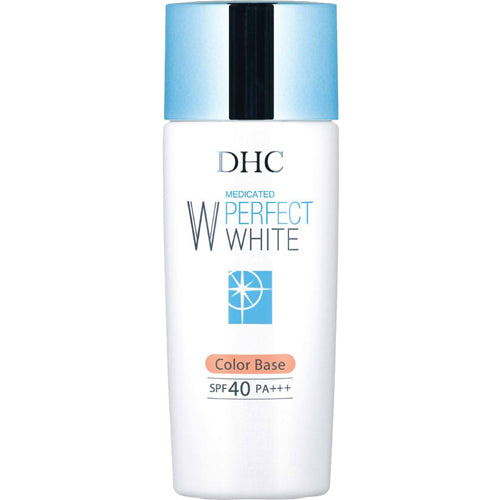 DHC MEDICATED PERFECT WHITE BASE MAKEUP COLOR BASE SPF40 PA+++ APRICOT 30g