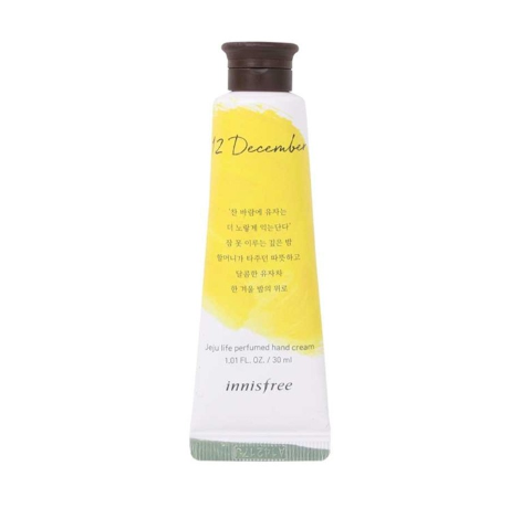 INNISFREE JEJU LIFE PERFUMED HAND CREAM 12 DECEMBER 30ml