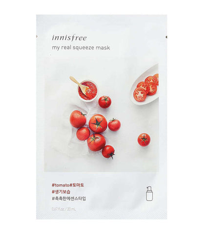 INNISFREE MY REAL SUQEEZE MASK #TOMATO 20ml