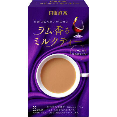 NITTOH-TEA RUM SCENT MILK TEA 6STICKS