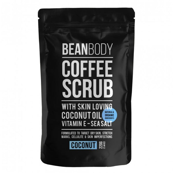 BEAN BODY COFFEE SCRUB COCONUT 220g