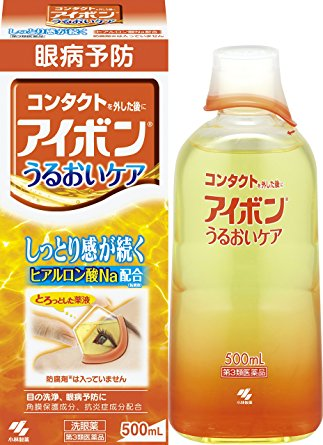 KOBAYASHI EYEBON MOISTURE CARE EYE WASH LIQUID 500ml (ORANGE)
