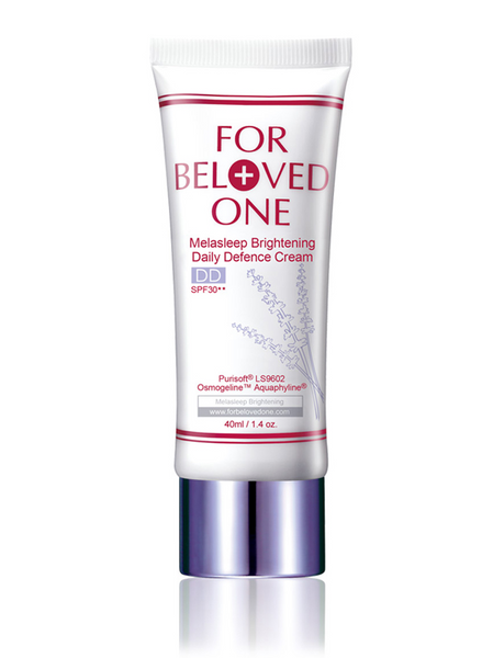FOR BELOVED ONE MELASLEEP BRIGHTENING DAILY DEFENCE CREAM SPF30 LAVENDER 40ml