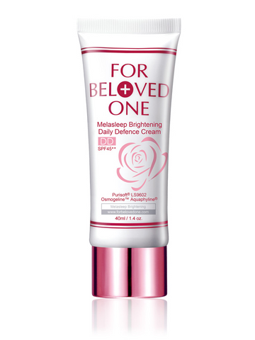 FOR BELOVED ONE MELASLEEP BRIGHTENING DAILY DEFENCE CREAM SPF45 ROSE 40ml