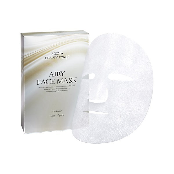 AXXZIA BEAUTY FORCE AIRY FACE MASK 7PCS