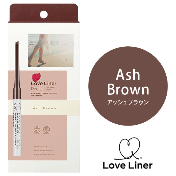 LOVE LINER PENCIL EYELINER WP ASH BROWN