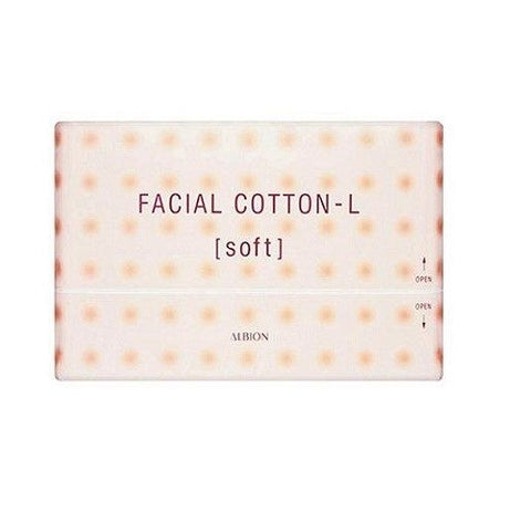 ALBION MAKEUP COTTON 120 SHEETS