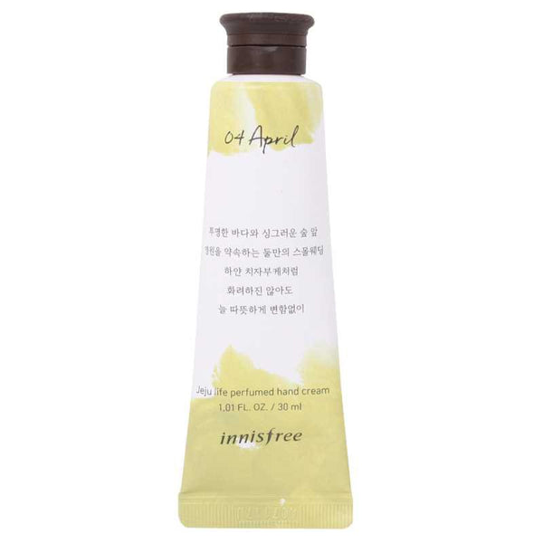 INNISFREE JEJU LIFE PERFUMED HAND CREAM 04 APRIL 30ml