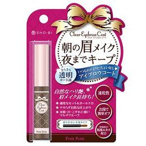 SHO-BI PETIT PETIT CLEAR EYEBROW COAT 4ml