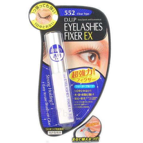 DUP EYELASHES FIXER EX 552 CLEAR TYPE 5ml