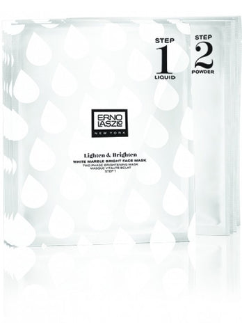 ERNO LASZLO NEW YORK WHITE MARBLE BRIGHT FACE MASK 4SETS