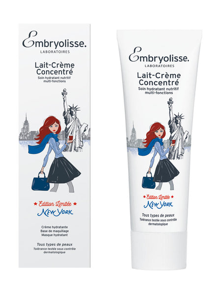 EMBRYOLISSE LABORATOIRES LAIT-CREME CONCENTRE MOISTURIZER NEW YORK LIMITED EDITION 75ml