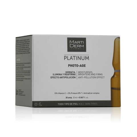 MARTIDERM LA FORMULA PLATINUM PHOTO-AGE 30AMP. 2ml