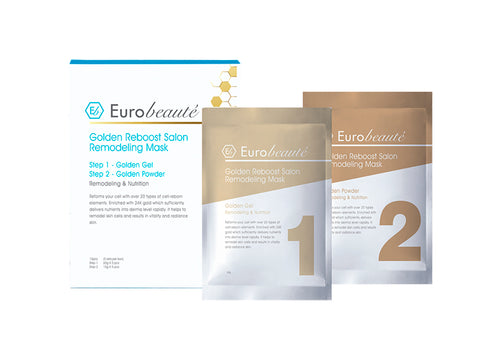 EUROBEAUTE GOLDEN REBOOST SALON REMODELING MASK 1SET