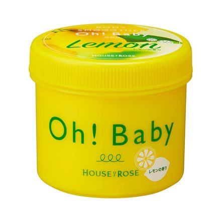 HOUSE OF ROSE OH BABY BODY SMOOTHER LEMON 350g