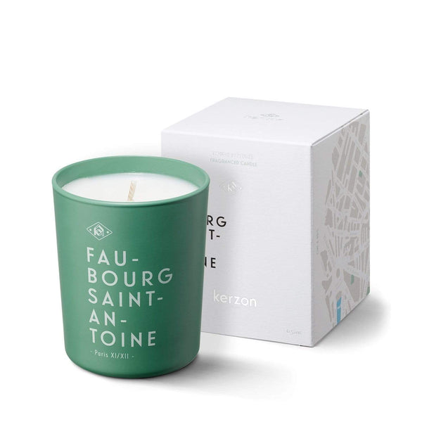 KERZON FRAGRANCED CANDLE #FAUBOURG SAINT ANTOINE 185g