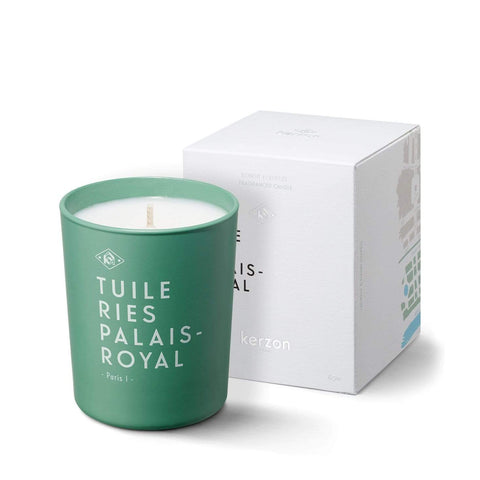 KERZON FRAGRANCED CANDLE #TUILE RIES PALAIS-ROYAL 185g