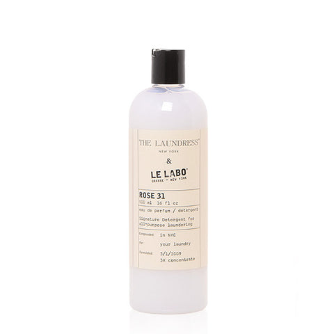 THE LAUNDRESS & LE LABO SIGNATURE DETERGENT - ROSE 31 475ml
