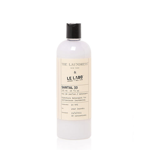 THE LAUNDRESS & LE LABO SIGNATURE DETERGENT - SANTAL 33 475ml