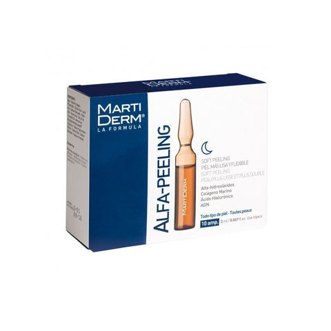 MARTIDERM LA FORMULA PLATINUM NIGHT RENEW 10AMP. 2ml
