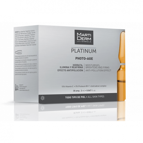 MARTIDERM LA FORMULA PLATINUM PHOTO-AGE 10AMP. 2ml