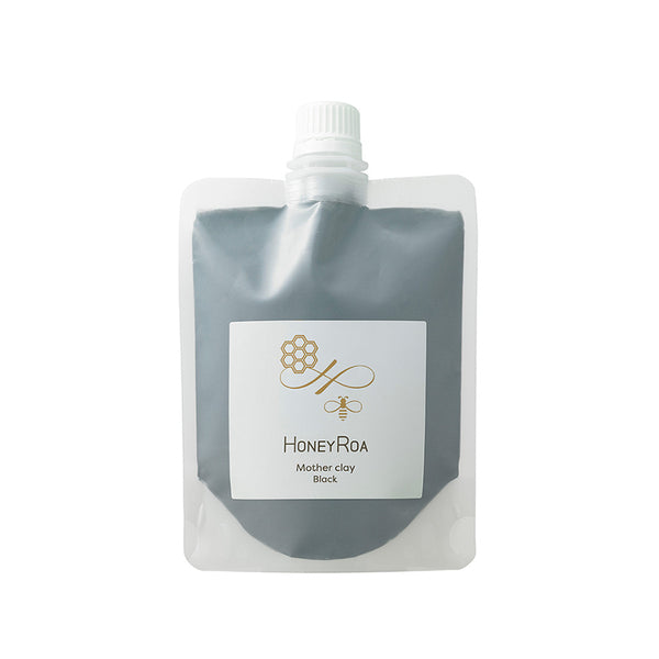 HONEY ROA MOTHER CLAY #BLACK-CLEAN 240g