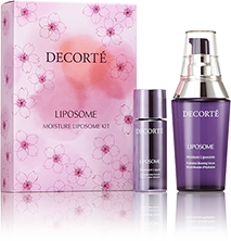 COSME DECORTE MOISTURE LIPOSOME KIT III