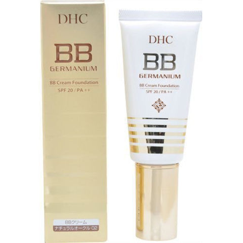 DHC GERMANIUM BB CREAM FOUNDATION SPF20 PA++ NATURAL OCHER 02 40g
